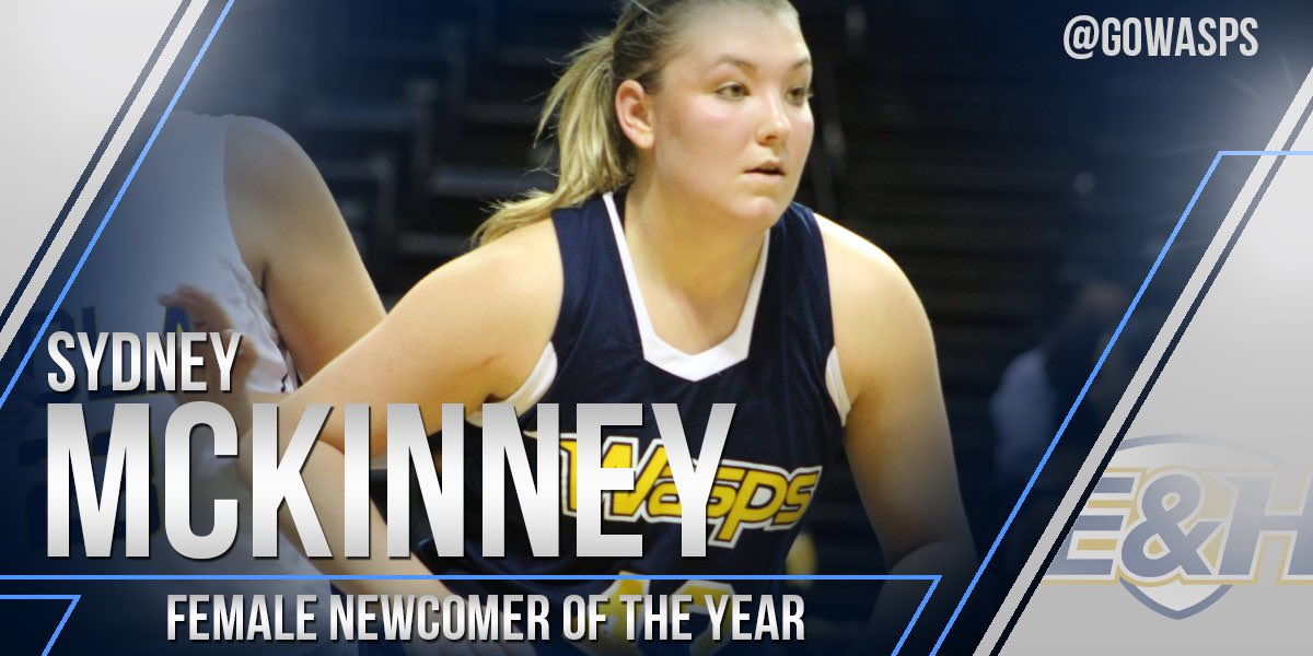 Sydney McKinney was named this year's Female Newcomer of the Year!