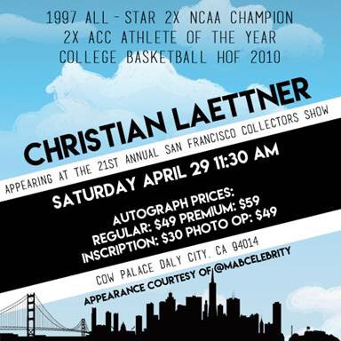 Come meet me at @cowpalacesf in Dale City, Ca this Sat.-11:30am-I will B signing autogr's courtesy of @MABCelebrity