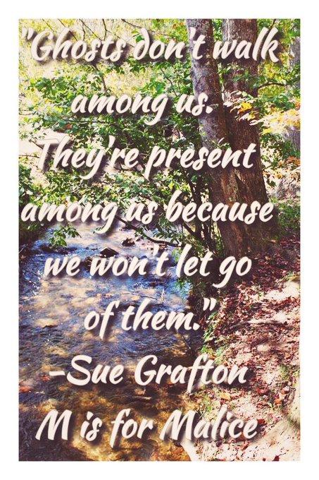 Happy birthday to mystery novelist, Sue Grafton!