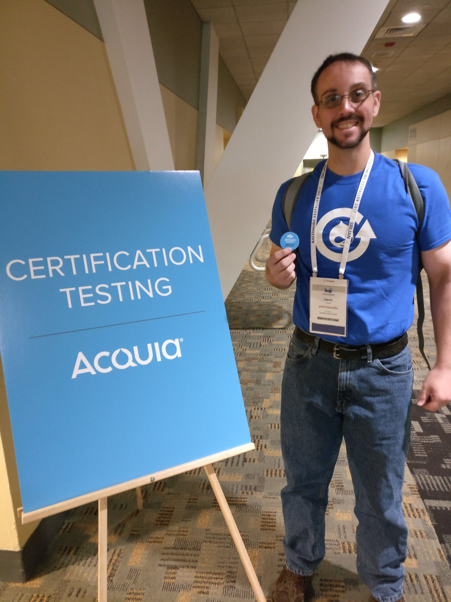 Acquia academy on twitter congratulations patrickavella from acquia academy on twitter congratulations patrickavella from upsidetweets on earning acquia certified front end specialist d8 credentials xflitez Images