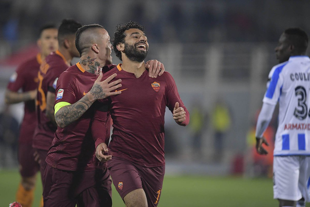 Pescara vs Roma Highlights