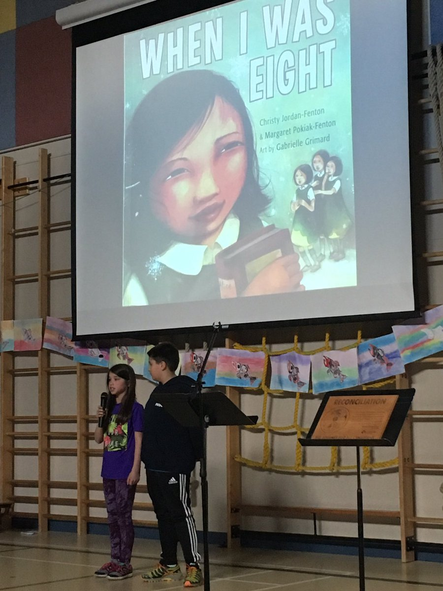 To reconcile is to learn about Residential School. This is what RC Garnet Demonstration School did @LangleySchools #learn #share TY #TRC<br>http://pic.twitter.com/09aMxCmaWu