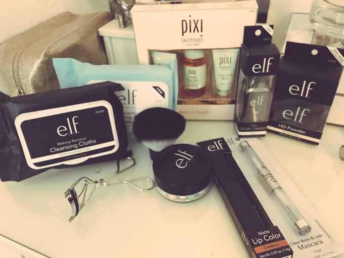 #treatyoself #elf #pixi #CrueltyFree #votewithyourmoney  Cannot wait to try out my new cruelty free beauty