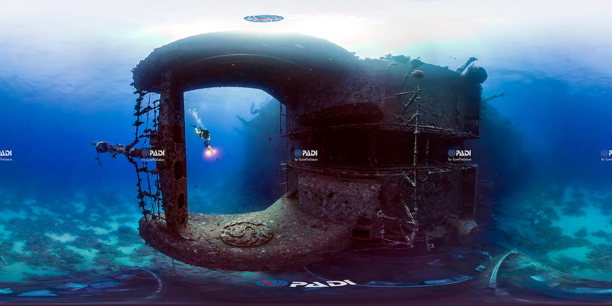 About 30 meters (98ft) deep while #diving the Salem Express in Hurgada, #Egypt.  : I Love The Sea <br>http://pic.twitter.com/MyxVWBmcs6