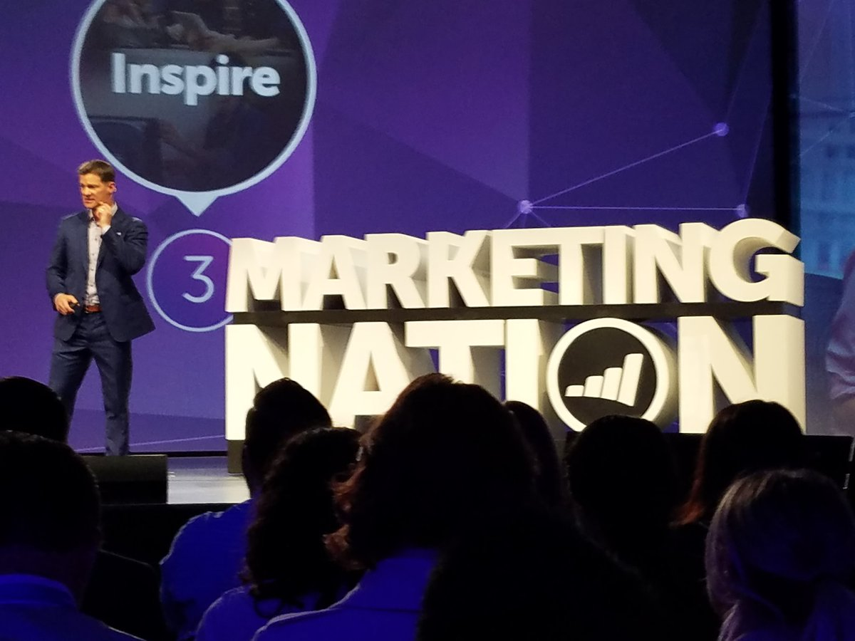 Great kickoff this morning at #MKTGNation summit #listen #learn #inspire key message from @nstevenlucas<br>http://pic.twitter.com/zm16195ugI