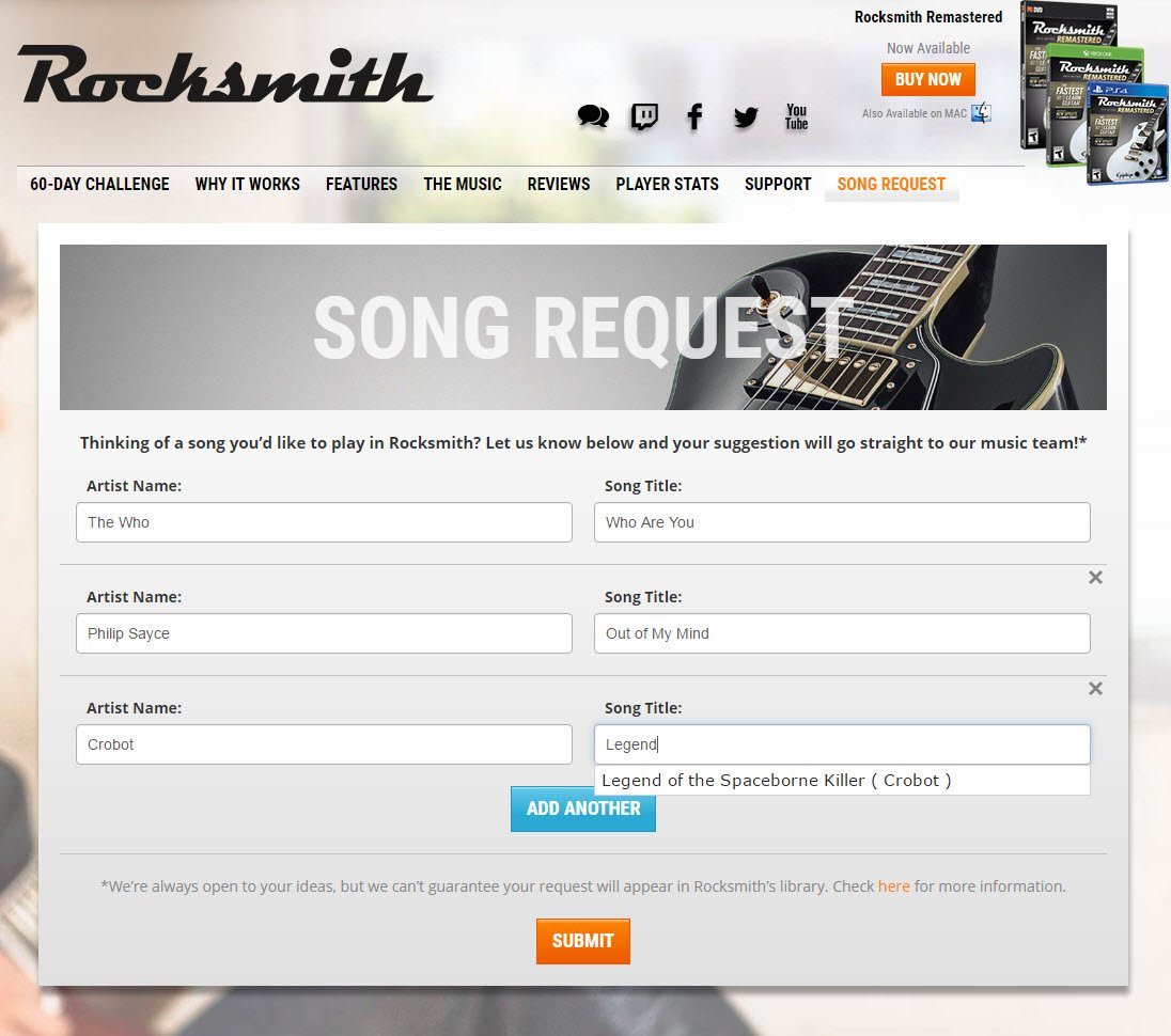 Song writing websites