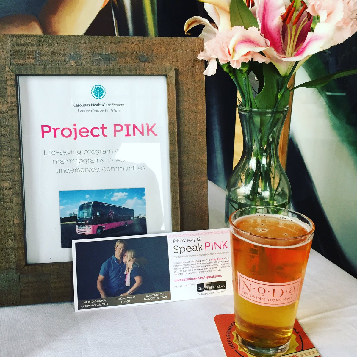 Rainy day blues? We&#39;ve got you covered. Visit @NoDaBrewing tonight until 7 to support #breastcancer outreach #screeningsaves @carolinas #LCI <br>http://pic.twitter.com/MhhRBFDYOg