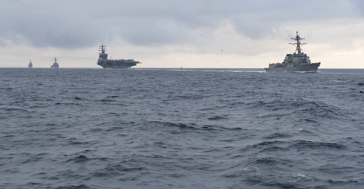 Carrier NIMITZ CVN68 strike group completed workups Friday, declared ready to deploy from US West Coast