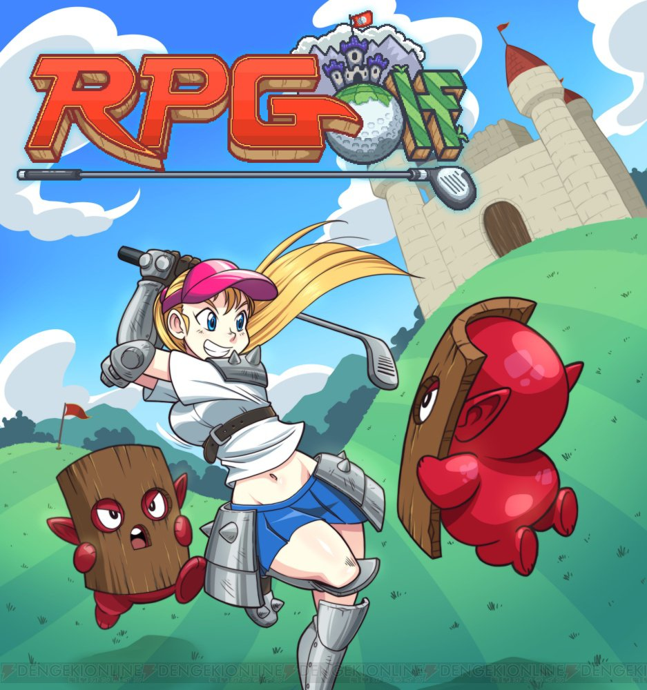 RPG&ゴルフゲームが融合した新作アプリ登場。レトロな雰囲気とゲームシステムに注目   #RPGolf