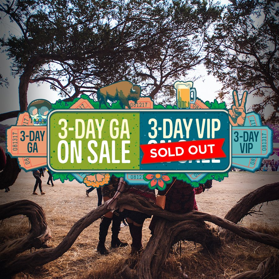 Outside Lands 2017 VIP Sold Out