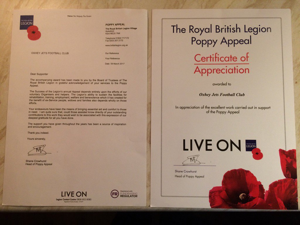 🇬🇧Very Proud to have accepted this tonight from the Royal British Legion for our poppy appeal fund raising 🇬🇧 https://t.co/01BsF0qYTN