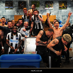 RT @NUFC: 📸 The players celebrate tonight's win an...