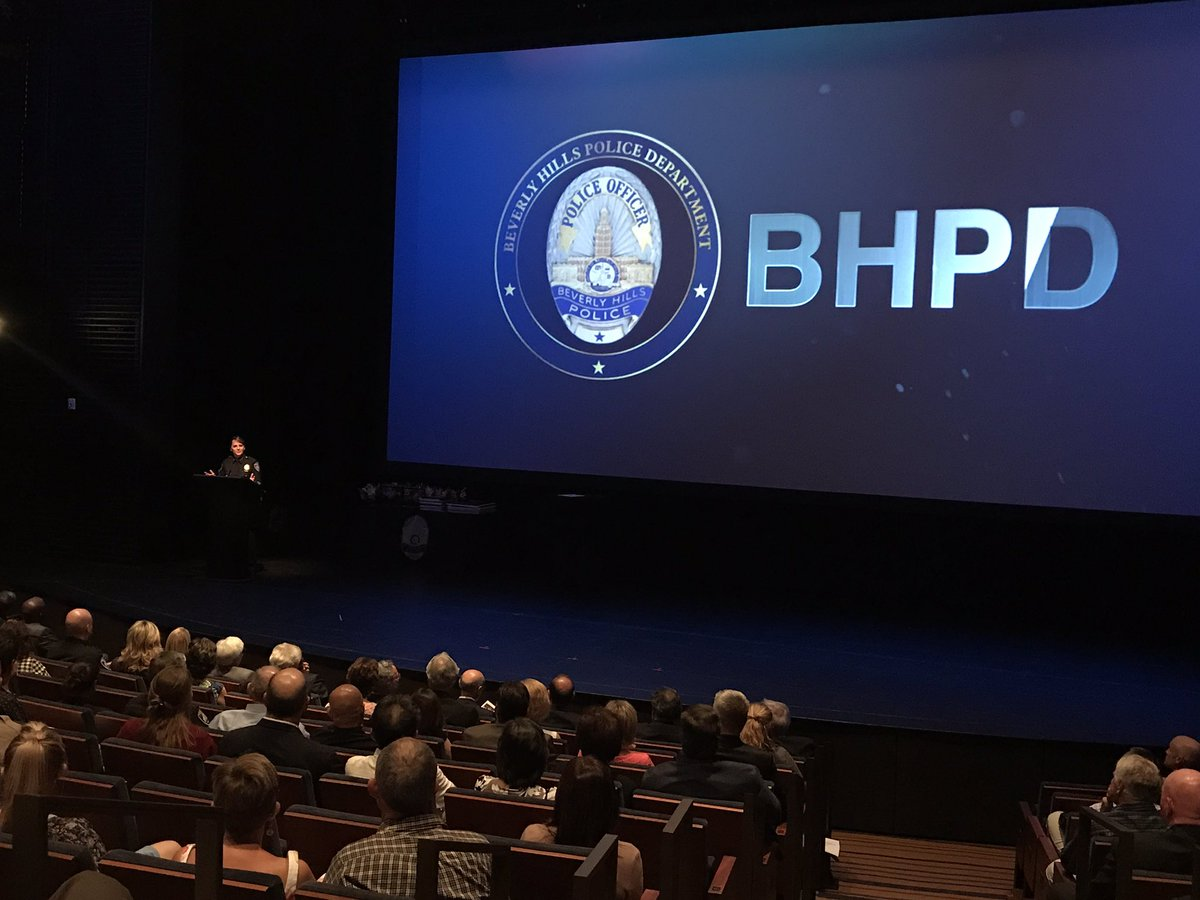 @Chief_Spagnoli addressing the crowd at the @BeverlyHillsPD #Police Recogition Ceremony at @TheWallisBH in #BeverlyHills<br>http://pic.twitter.com/RNIIxS7kzo