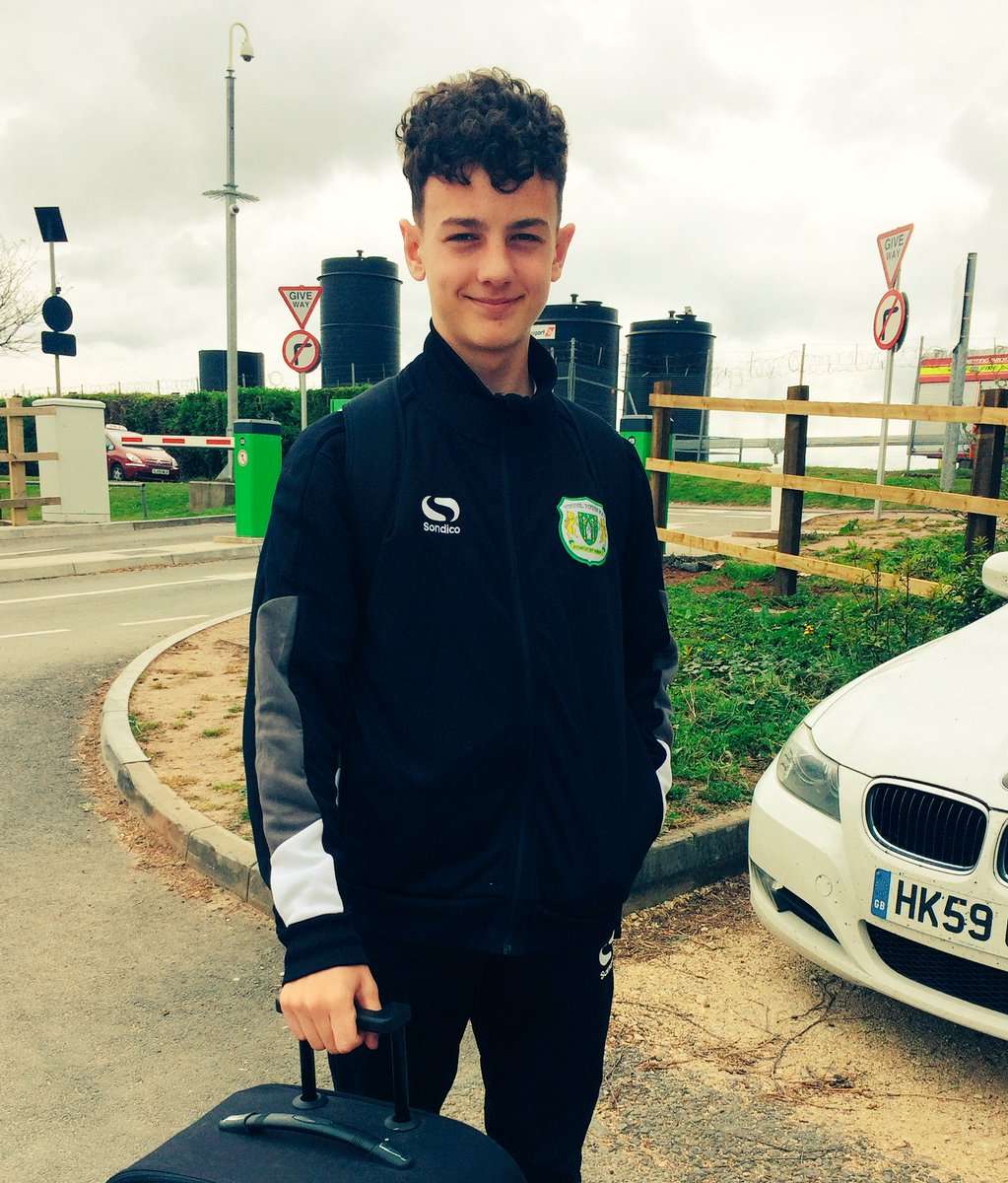 Hope Devon has an #awesome time in #Barcelona on tour with @YTFC this week <br>http://pic.twitter.com/y620NcpuGl