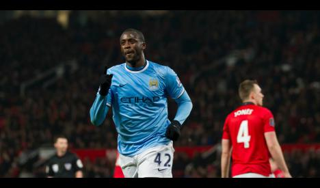 Very, very angry Yaya Toure has extra motivation for Manchester United game #ManchesterUnited #ManUtd #MUFC #Soccer  http:// sport-ne.ws/48z3  &nbsp;  <br>http://pic.twitter.com/PgfrUm0cpo
