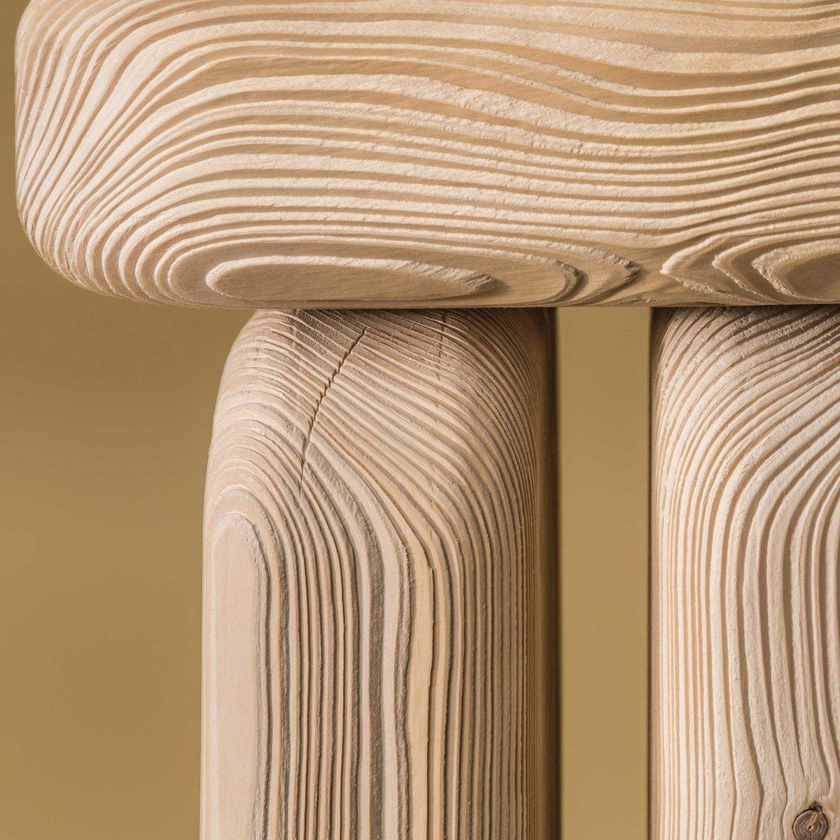 Dezeen On Twitter Sandblasting This Wood Furniture