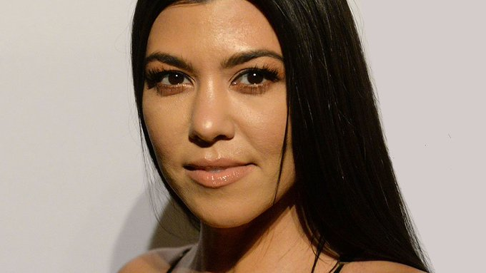 Kourtney Kardashian Looks Unrecognizable with Blonde Hair For 'Kimmel'