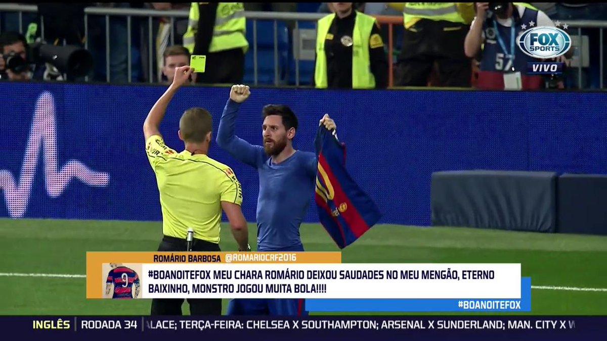 'Com todo respeito, fui melhor que Messi e Maradona!', Romário no #BoaNoiteFOX.