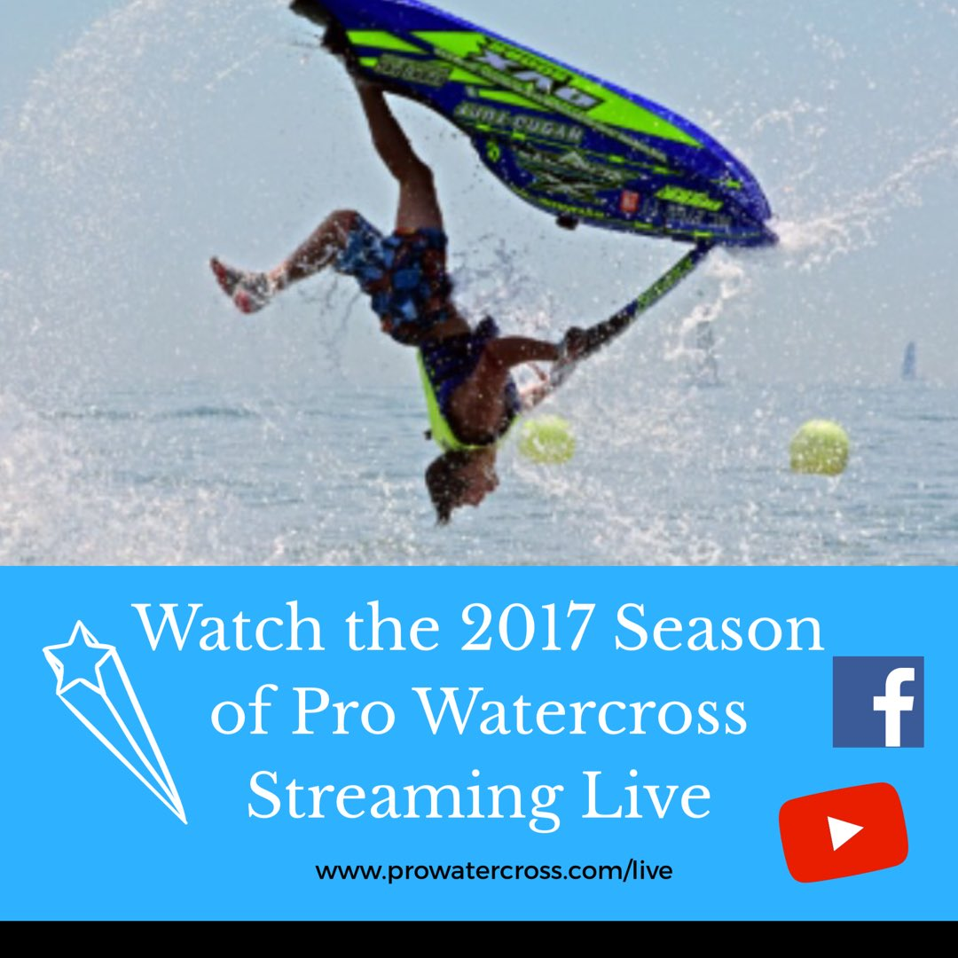 We&#39;re #Flipping out! It&#39;s almost #racing time and the #Pro Watercross tour is starting!  Be sure #save #share  -&gt;  http://www. prowatercross.com/live/  &nbsp;  <br>http://pic.twitter.com/lRggDpRg0O