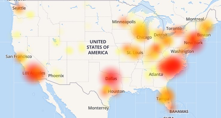 Lil Joe On Twitter Anyone In The US Having Problems With Their - Us spectrum map