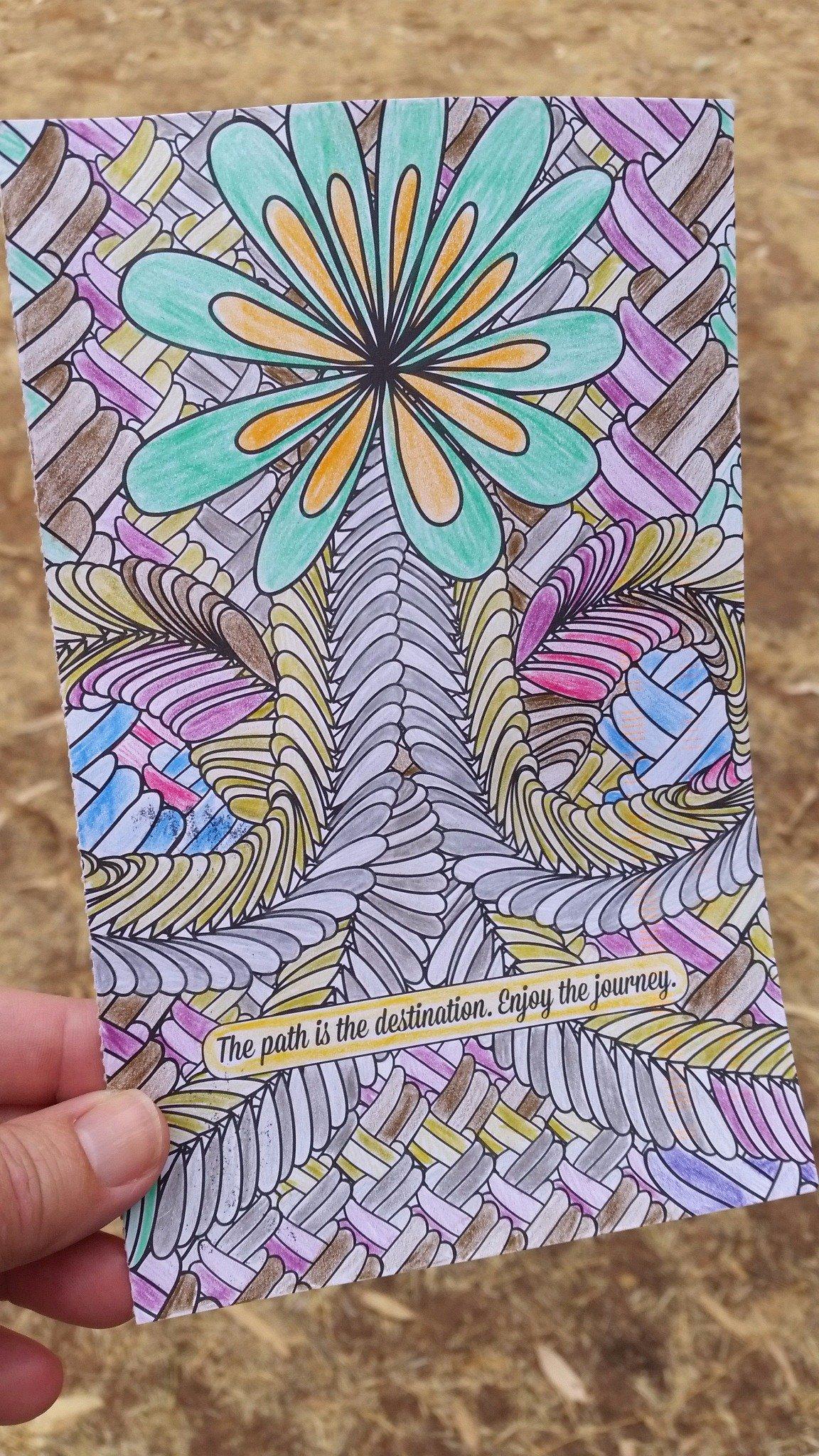 Weaving Knots. https://t.co/GVlZ1WzaFw Thanks @dogtrax #CLMOOC #Postcards @kfasimpaur https://t.co/iJL1X3fUtw