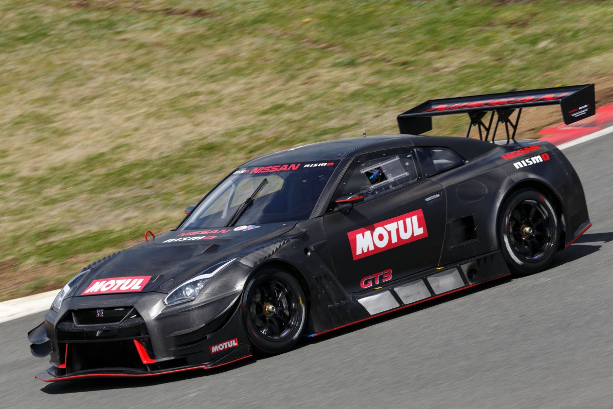 2018 nissan gt r nismo gt3 unveiled motorsports gt r. Black Bedroom Furniture Sets. Home Design Ideas