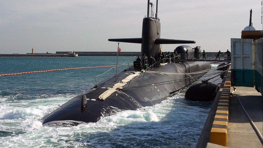 Nord Corea: Venti di Guerra con l'invio del sommergibile nucleare USA Uss Michigan