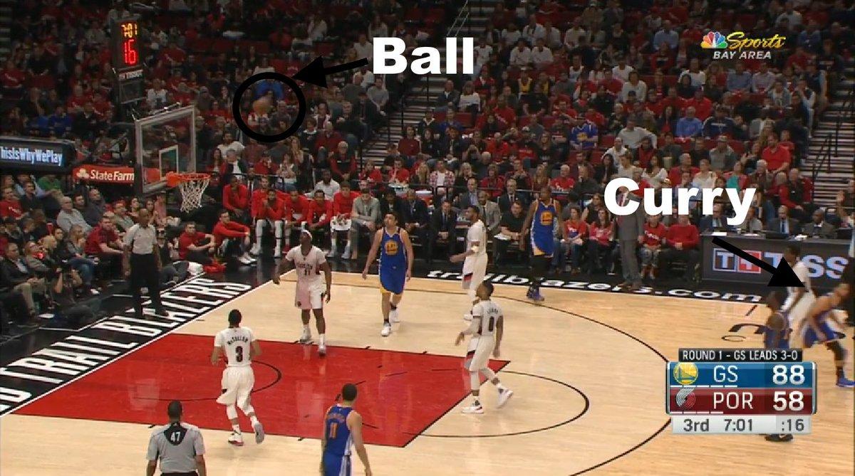 【影片】就是這麼自信!Curry投完超遠三分后迅速轉身離開