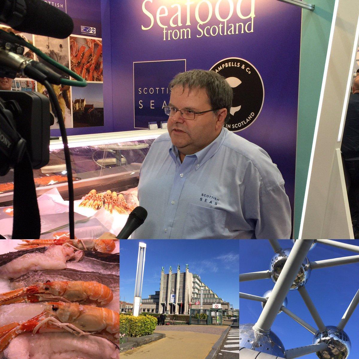 Super start to #seg17 @seafoodscotland