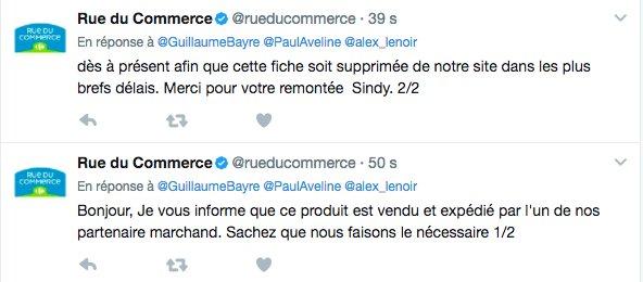 La réponse de @rueducommerce sur la tenue d''enfant déporté' vendue sur son site
