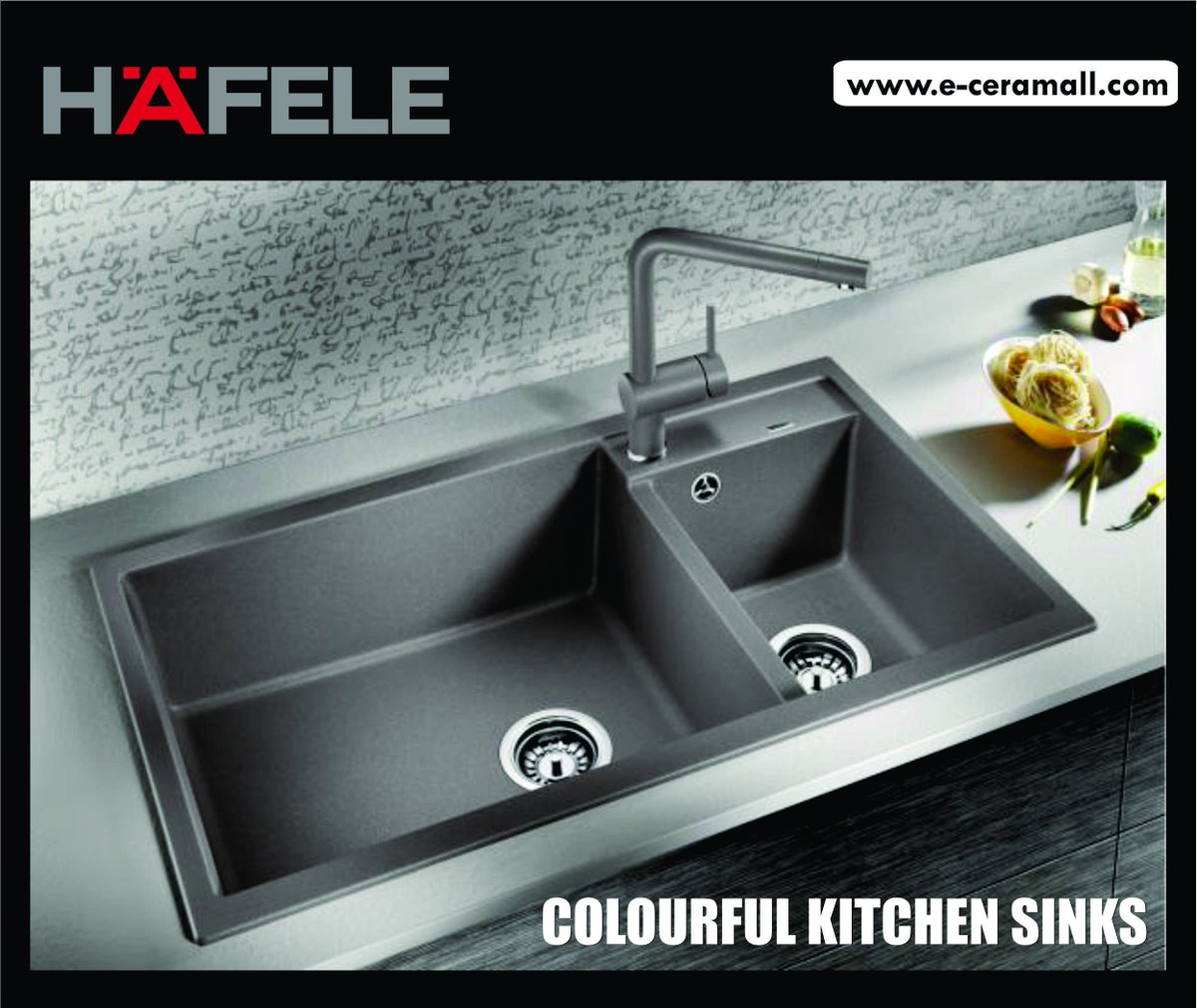 Eceramall On Twitter Colourful Kitchen Sinks For Ages The Kitchen Sink Has Been Silver And Ss Material Kitchen Sinks Carysil Hafele Blanco Franke Https T Co 2zjh3qhljf