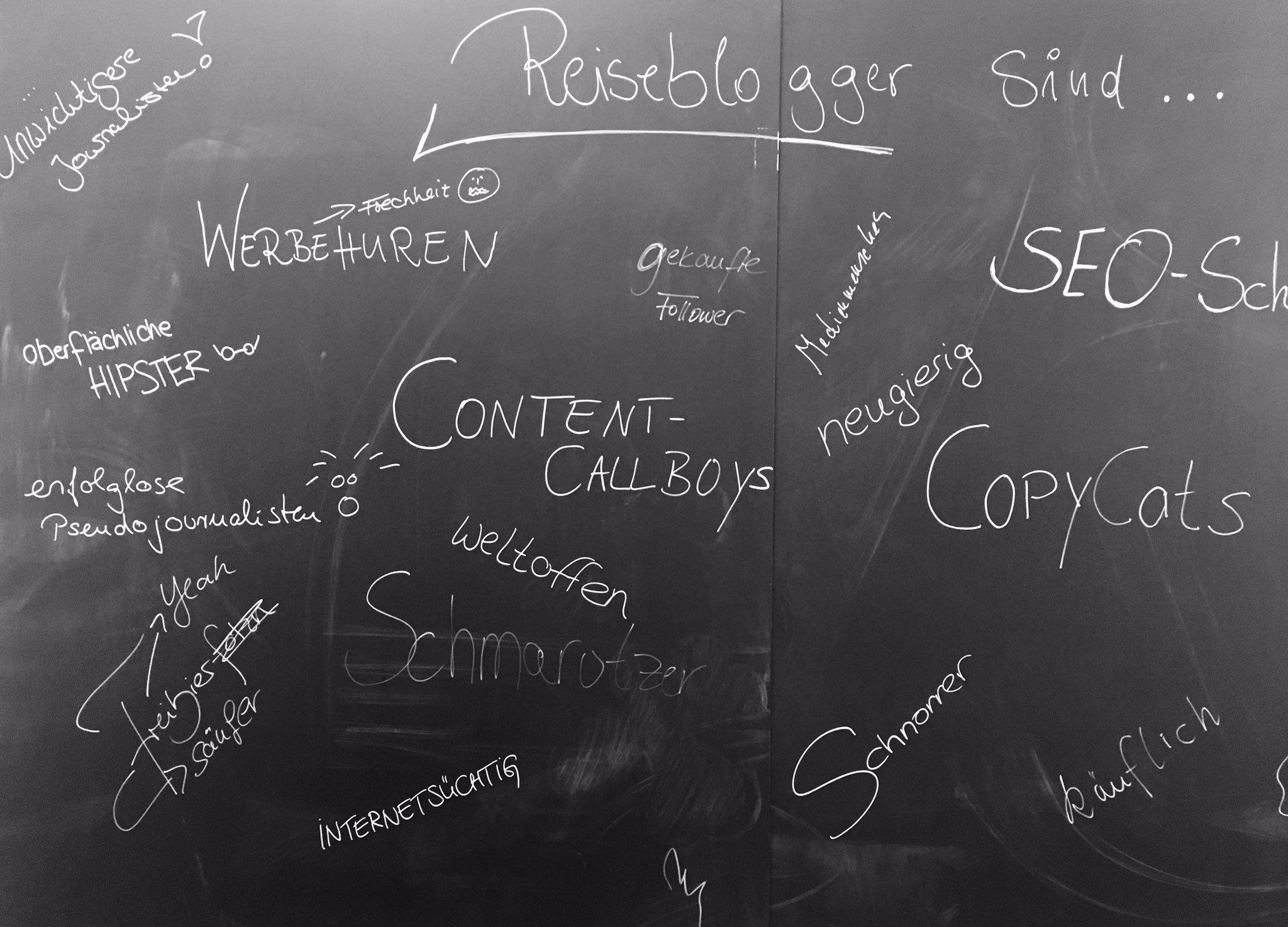 Sind #Reiseblogger nur Werbehuren und Content-Callboys? Stellungnahmen und Interviews vom #RBCamp17 auf https://t.co/BuGYVKywBP https://t.co/Oqegjy8uUv