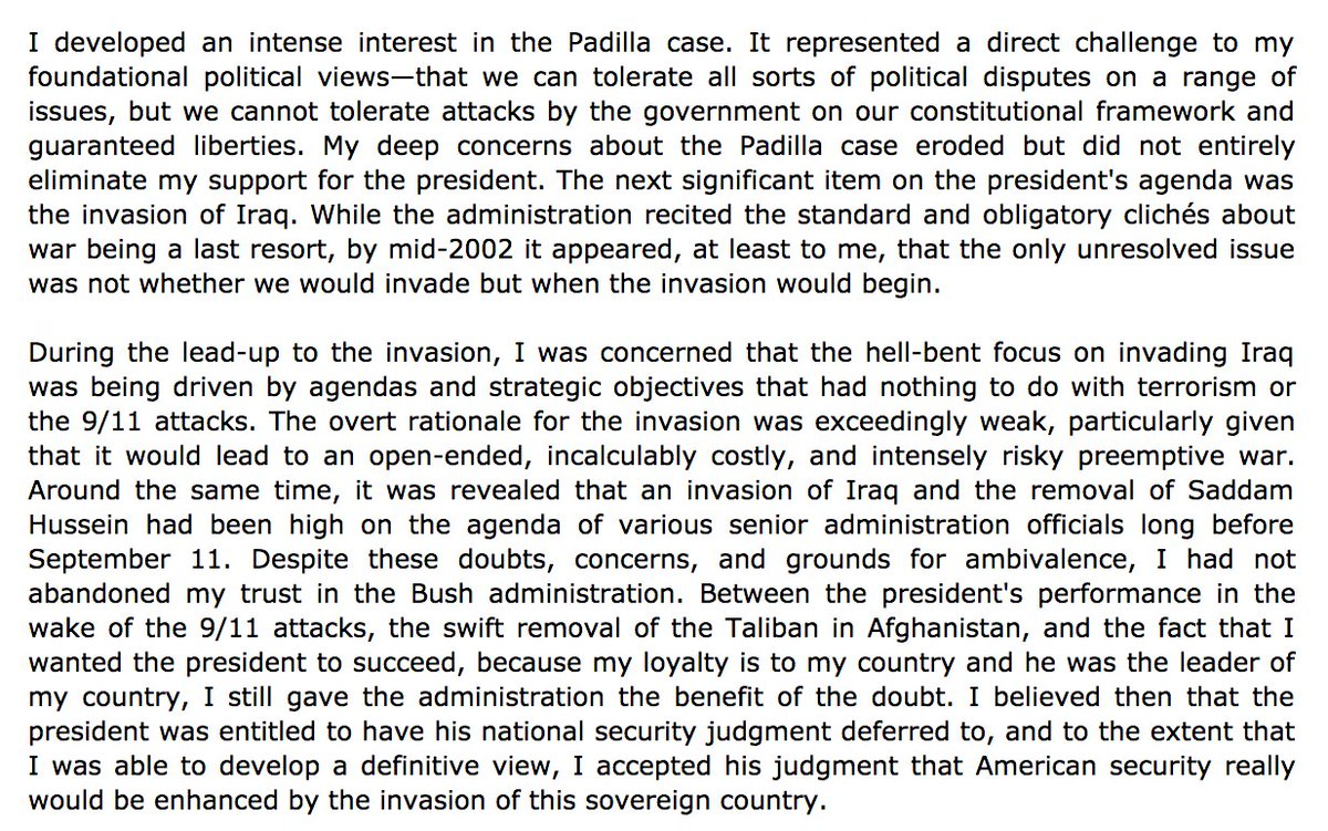 @BenSpielberg @ggreenwald Or you could just read his book:  'How Would A Patriot Act, ' which describes his transformation from supporter to opponent. From the preface: https://t.co/CpNGF4
