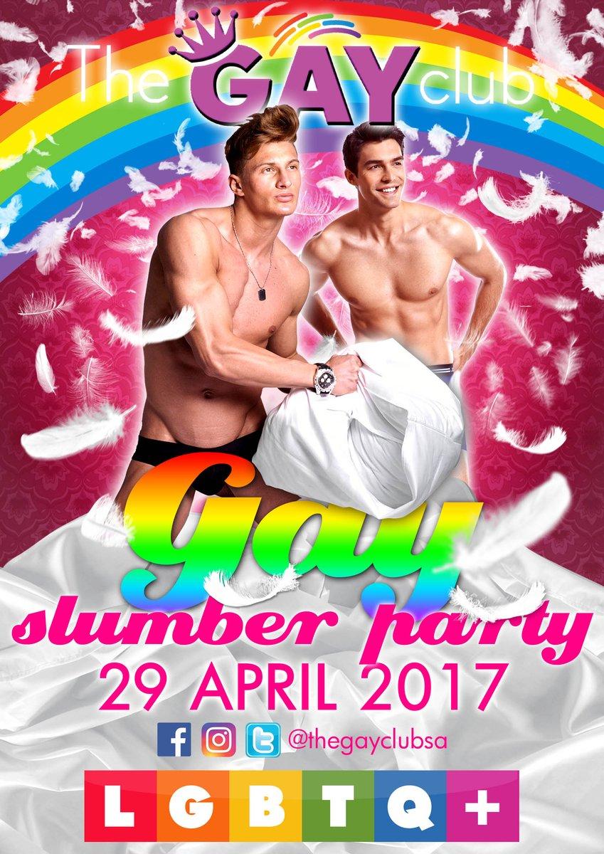 Slumber party gay