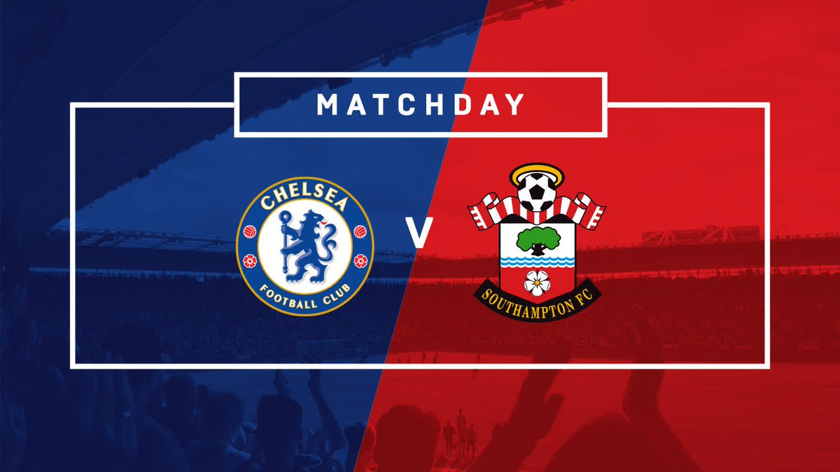 Ready to go! 😇  ⚽️ #CFC vs #SaintsFC 🏆 @premierleague 📍 Stamford Bridg...