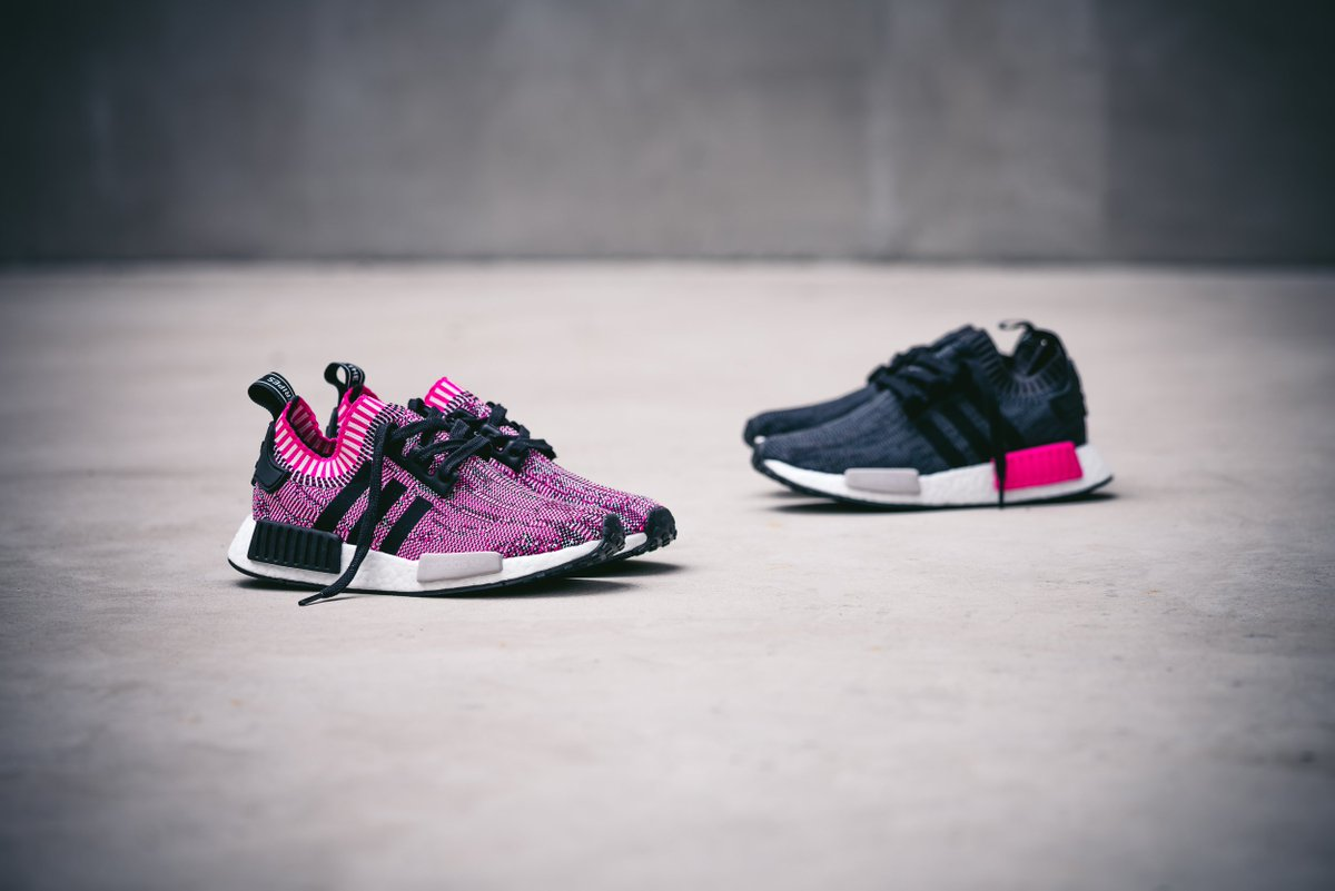 For the ladies: the adidas NMD R1 PK drops April 27th. Instore & online.  http://solebox.shop/adidas-NMDR1-shockpink …