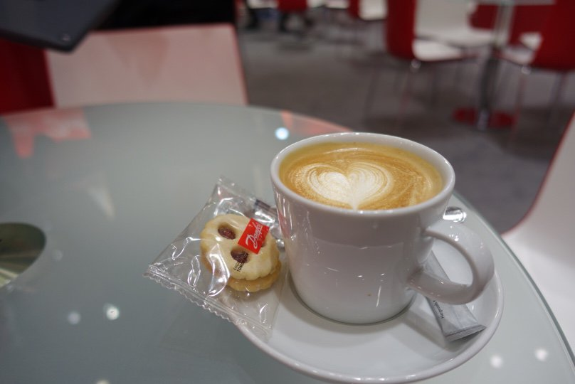 Start a day with a good coffee! Stop by our stand at #Hannover fair (Hall 14, Stand H30) to get some #coffee #connectivity #innovation #HM17 https://t.co/XVV0hrE4Bs