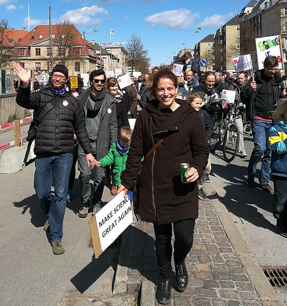 We care about the future of science and marched in #Copenhagen!  A group of @UCPH_health @UCPH_DanStem have participated at @sciencemarchdk. https://t.co/uiV5R0uBza