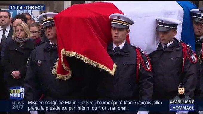 DIRECT #HommageNational à Xavier Jugelé  📺https://t.co/LIEhlp6yN7