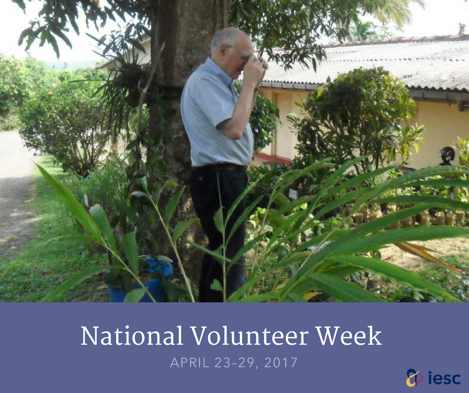 Hal helped Sri Lanka's cinnamon industry become one of the world's best & most competitive https://t.co/ALiWamJ733 #NationalVolunteerWeek https://t.co/at1mqzjzMN