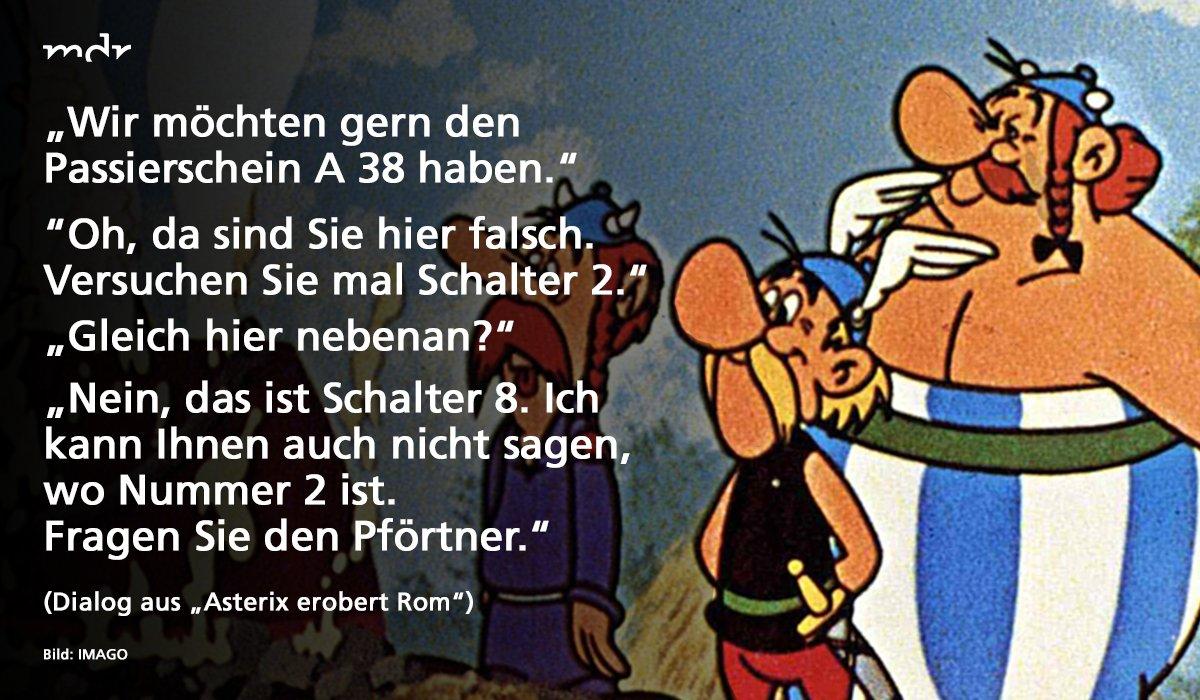 Passierschein Asterix