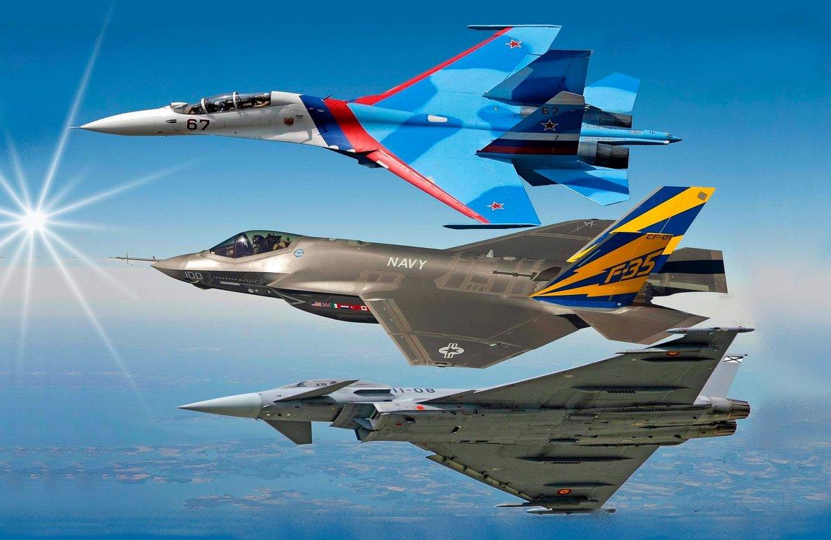 Su-30MKI「嬢ちゃん、どこ行くんだい?」 Eurofighter Typh...