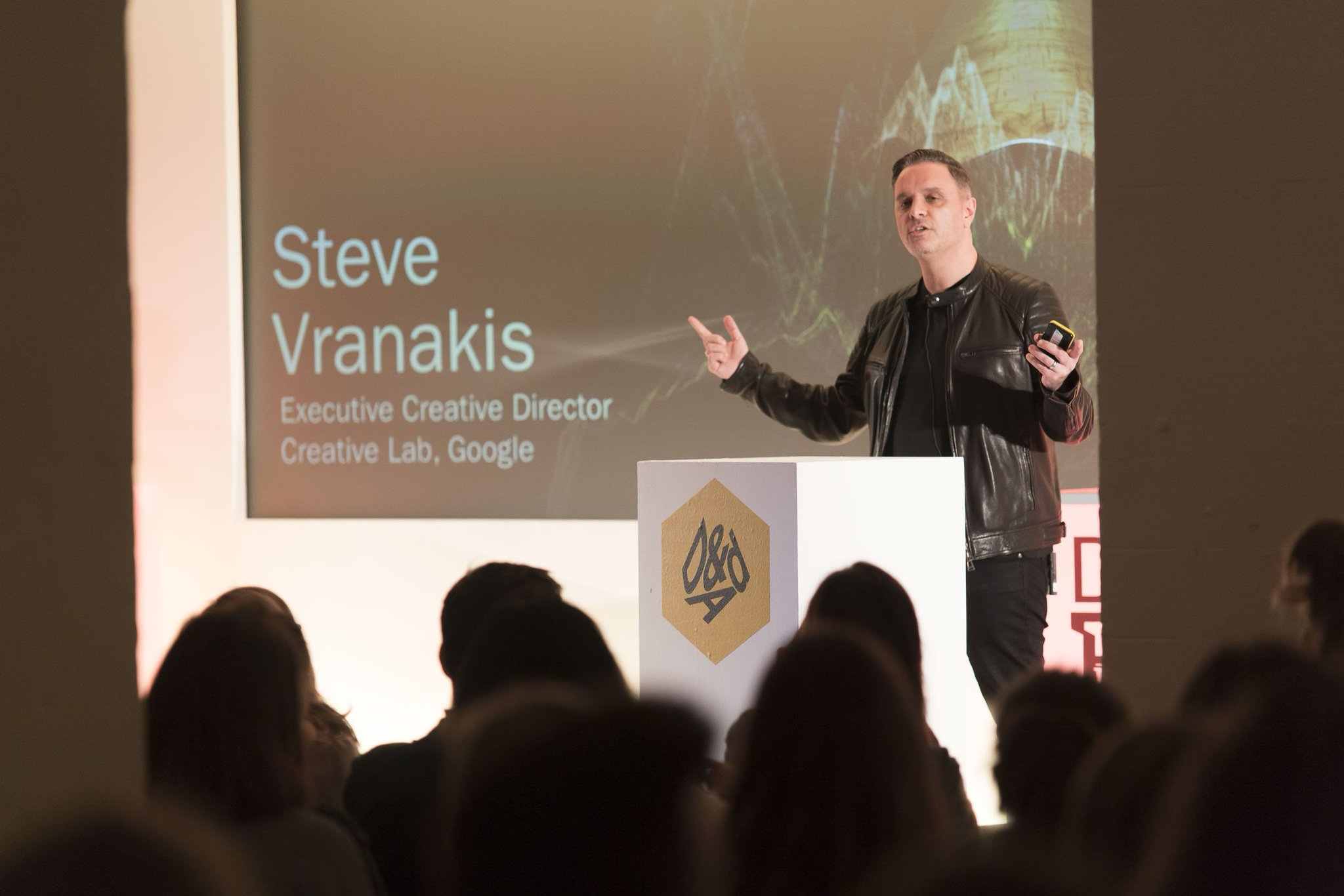 Inspiring words from future D&AD President and @Google Creative Lab ECD, @stevevran at #DandAD17 earlier. https://t.co/ASiGvG3XMs