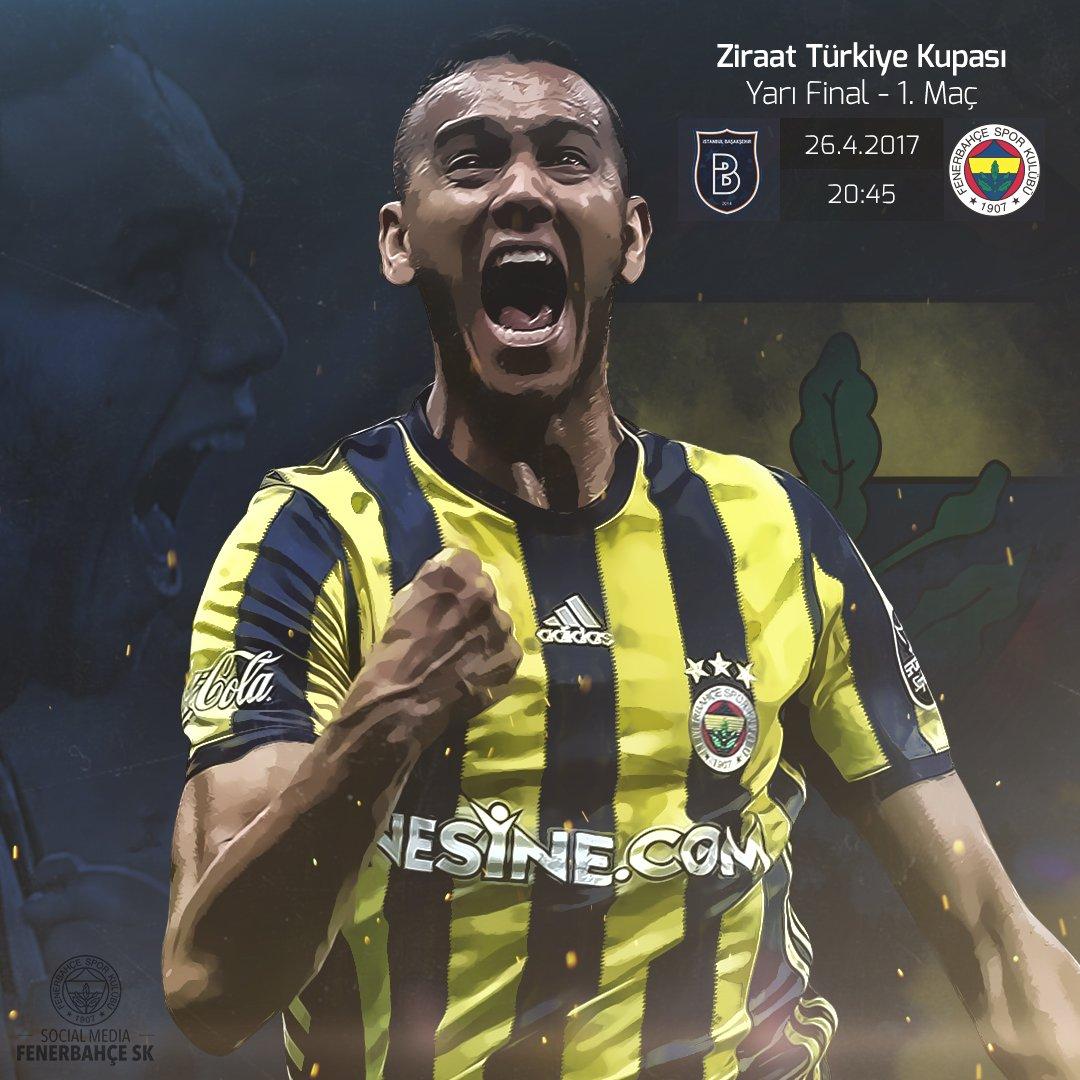 ⚽️ M. Başakşehir - Fenerbahçe 📍 3. İstanbul Başakşehir Fatih Terim Stadı 🗓 26.04.2017 🕣 20:45 #FBSK