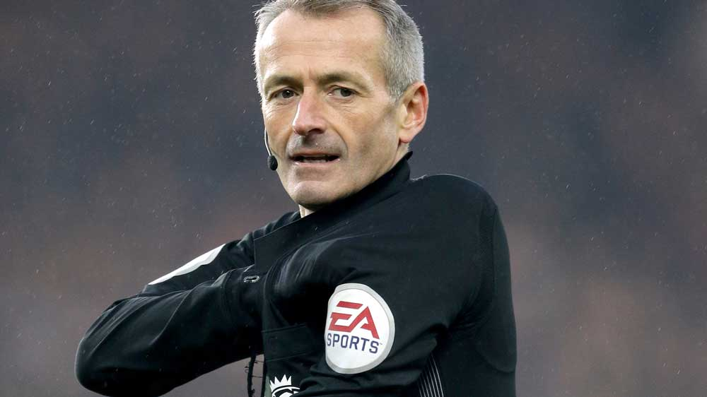 Martin Atkinson will take charge of #cityvutd on Thursday night. https...