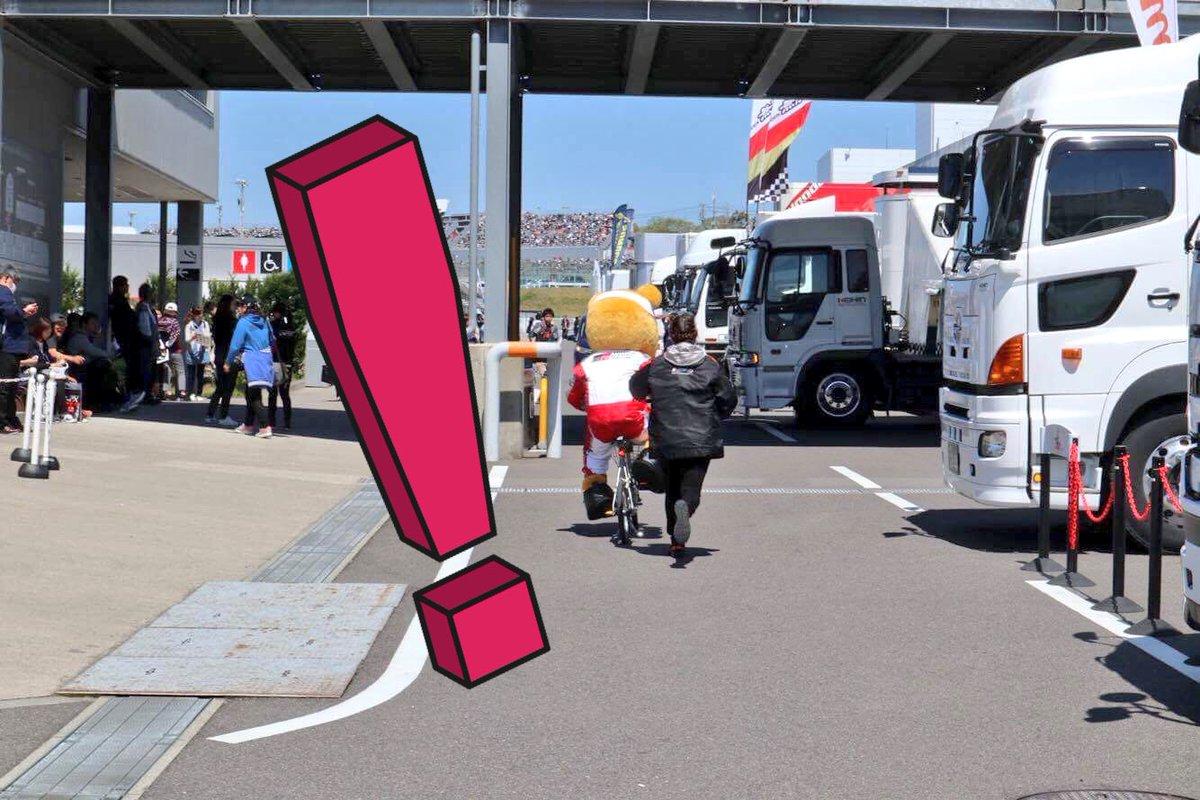 くま吉に自転車奪われた図。 https://t.co/r6WNtVpHp9