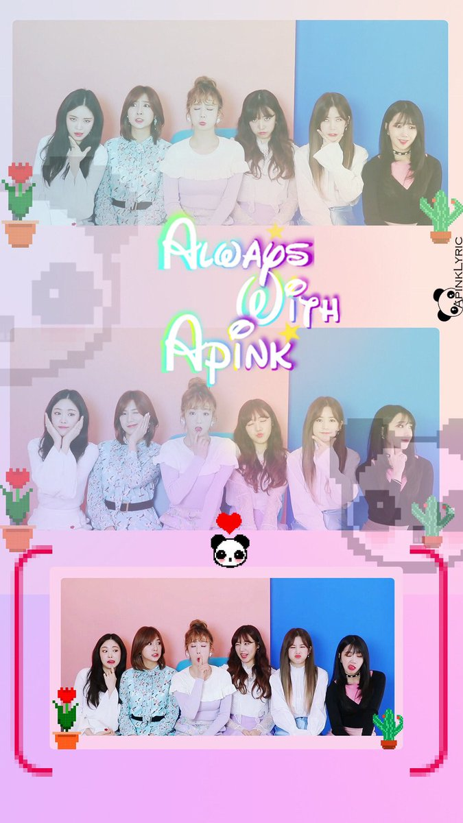 ApinkLy Ric On Twitter Apink AlwaysPhone Wallpaper AlwaysWithApink