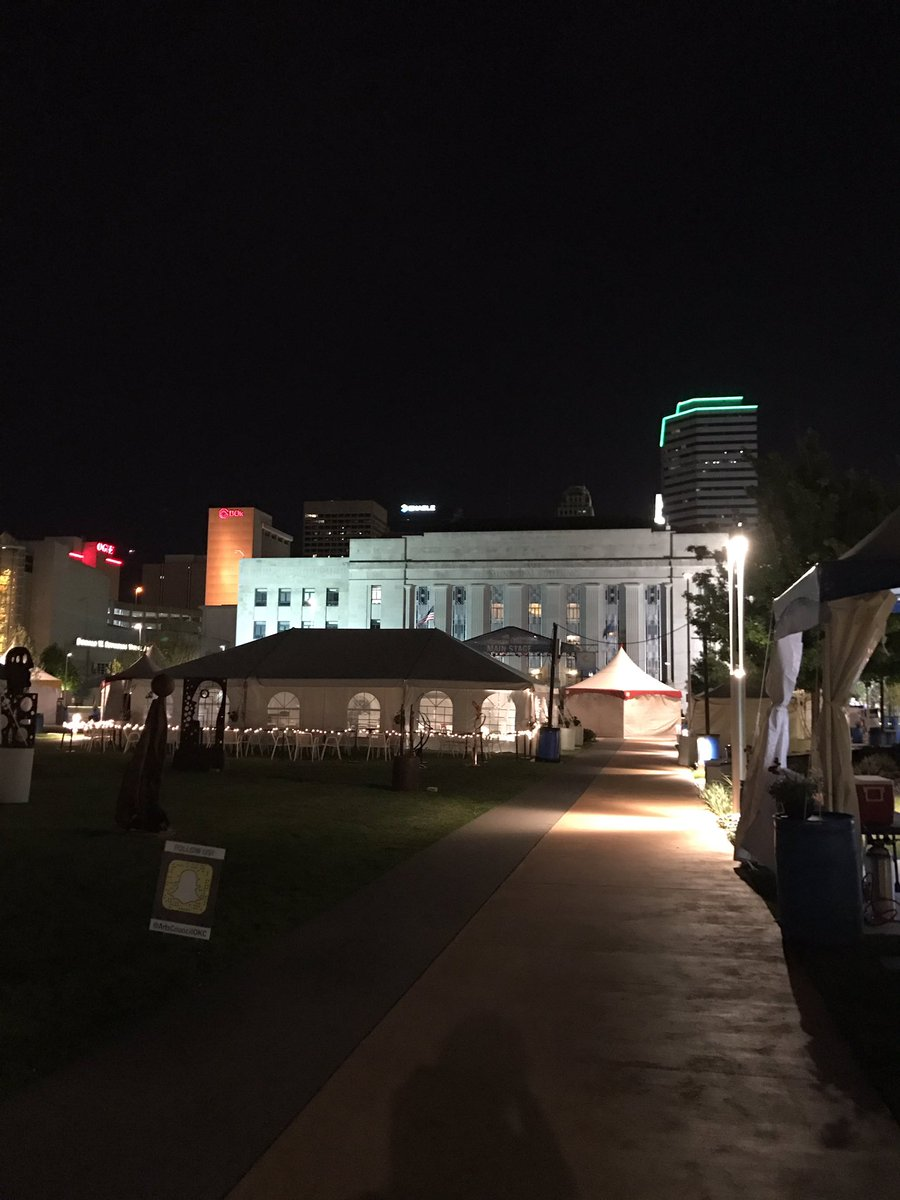 Good Morning!  It's Festival of the Arts Opening Day!  Join us at 11AM! #OKCFA https://t.co/6OyjSa7BHu