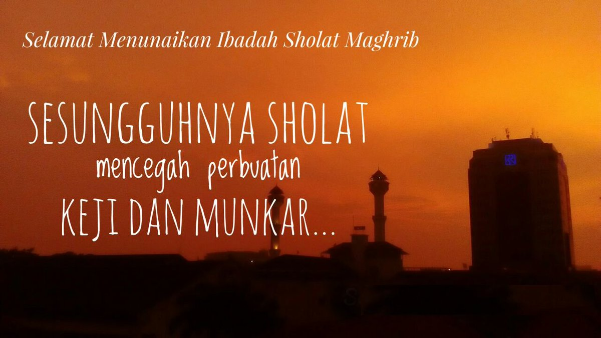 Radio Prfm Bandung V Twitter Telah Tiba Waktu Adzan Magrib Untuk