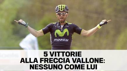 Video Greetings #Valverde, the master of #Ardenne  http:// rosea.it/31861d46qL  &nbsp;   #ciclismo #news<br>http://pic.twitter.com/srvrkF7uX7